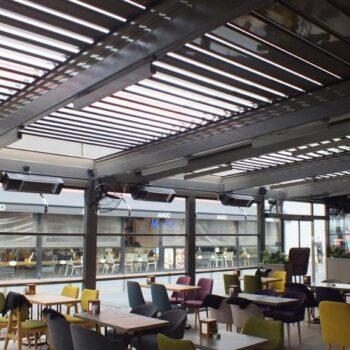 Rolling Roof, Çatı Sistemleri, Rolling Roof Pergole, Rolling Roof Pergola, Akıllı Çatı Sistemleri